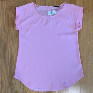 Express pink blouse